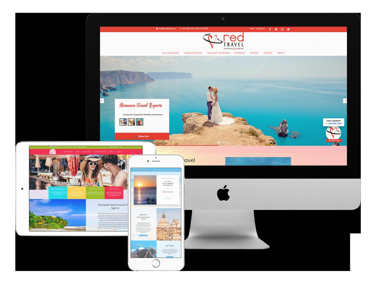 Travel Agency Websites